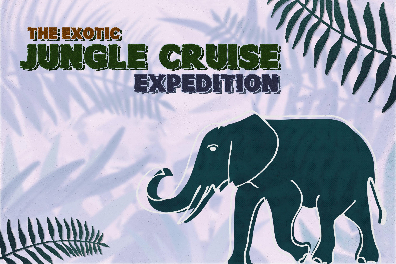 Junglezou Typeface example image 3