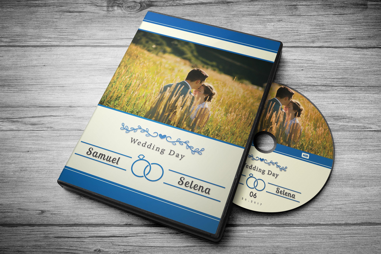 Wedding Dvd Cover 7 Color Options 279730 Branding Design Bundles
