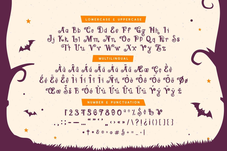 Roelis - Spooky Display Font example image 5