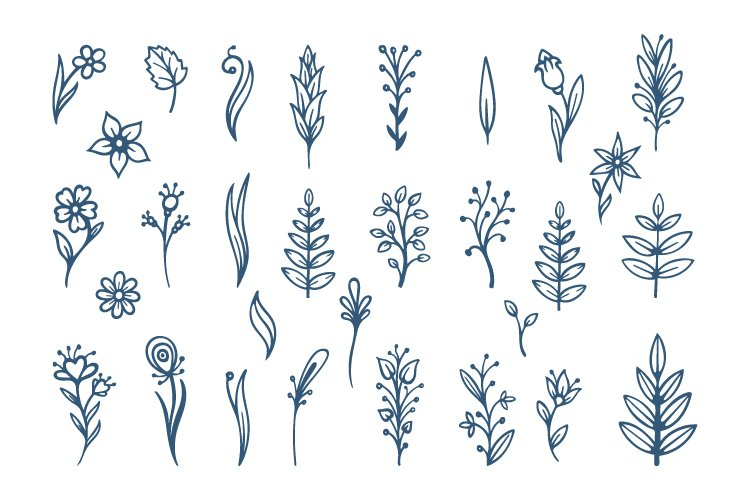 Floral illustrations. Part 2 example image 2