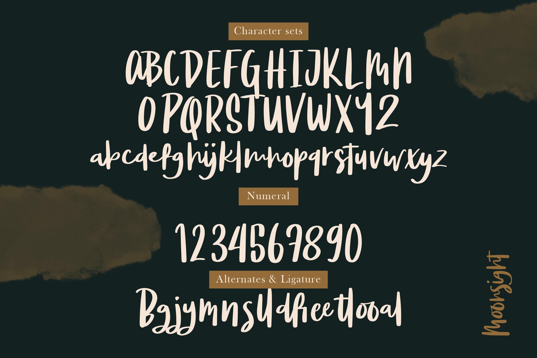 Moonsight - Script Fonts example image 3