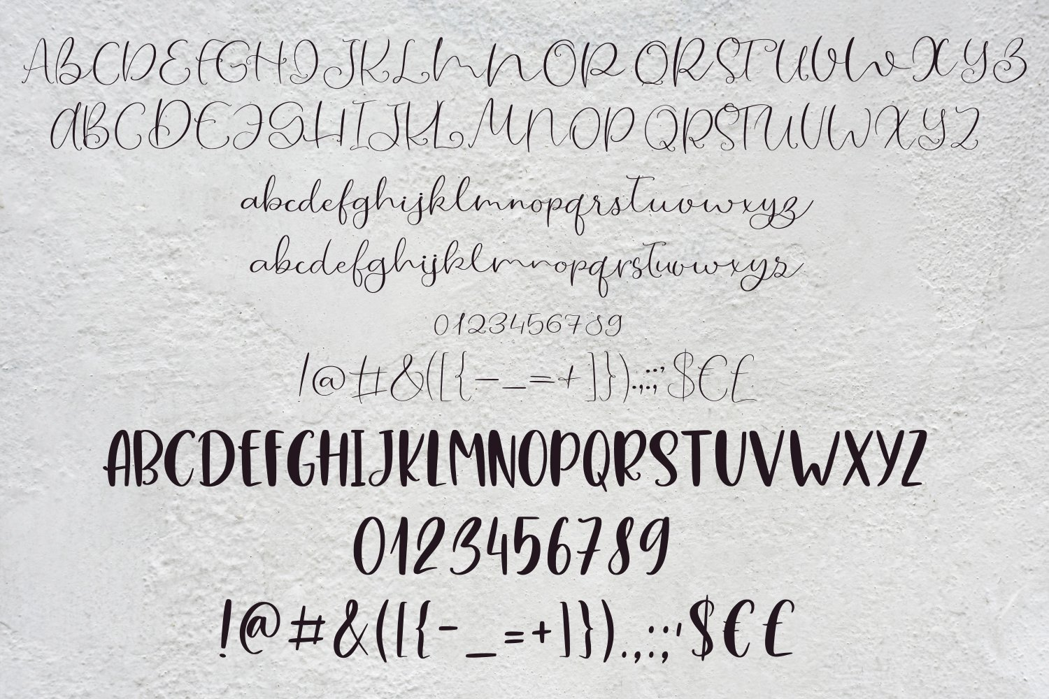 Hey Lovely. Font Duo example image 7