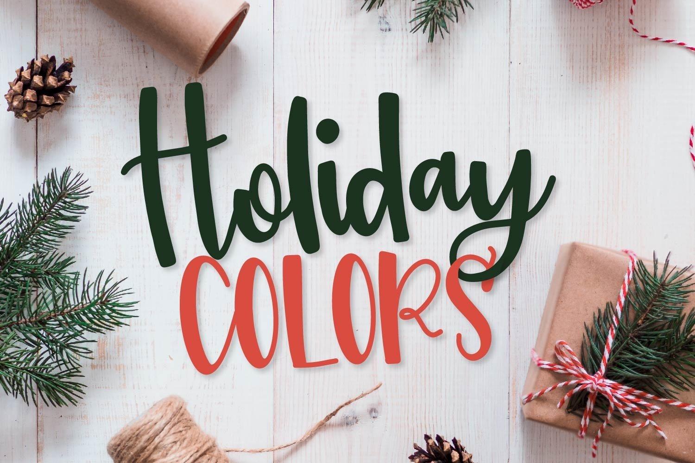 20 Christmas Fonts - A Christmas Font Bundle! example image 12