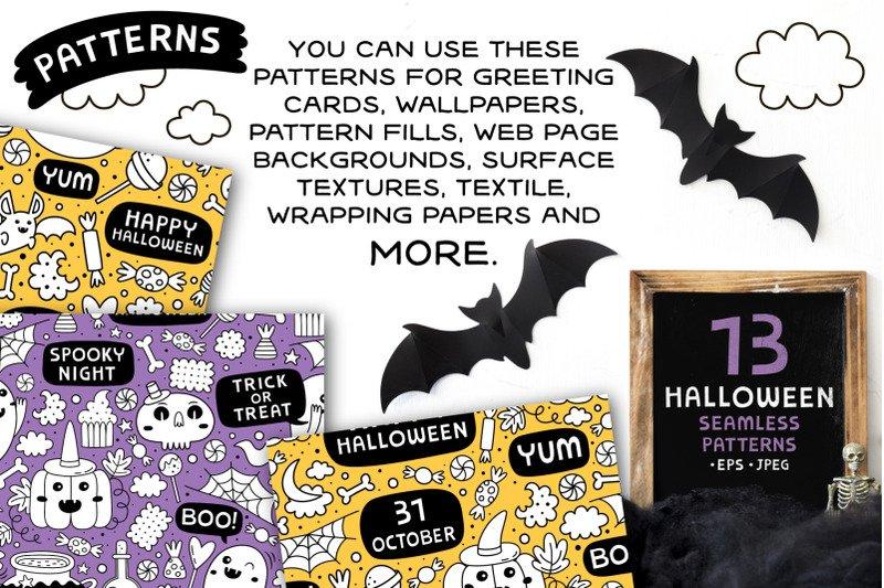 13 Halloween patterns example image 5