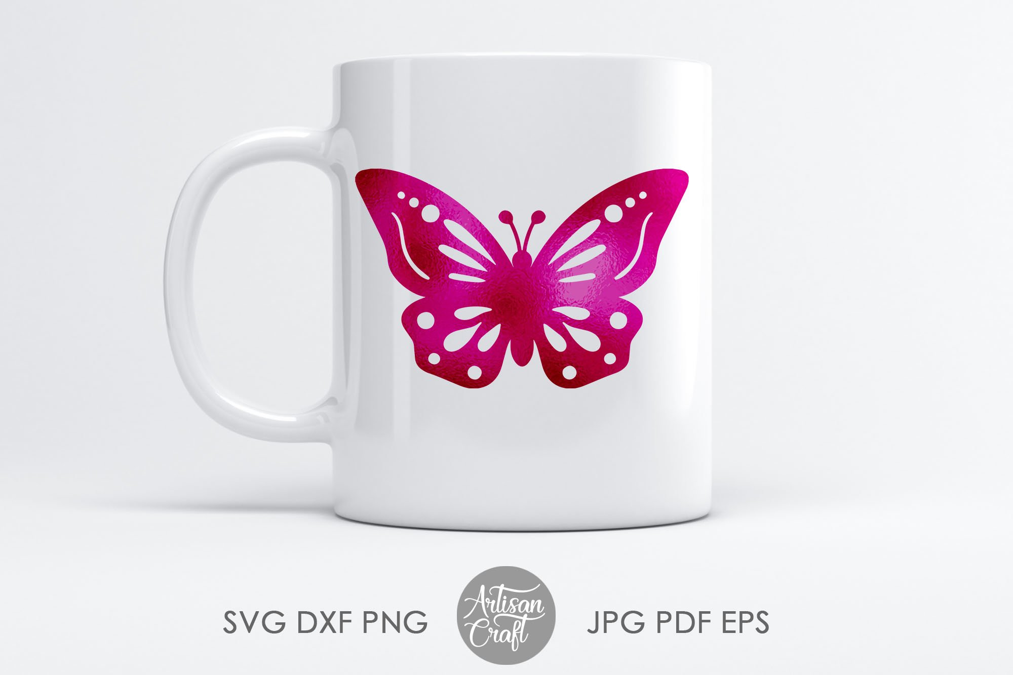 Butterfly clipart, butterfly SVG, cut files, layered svg example image 2