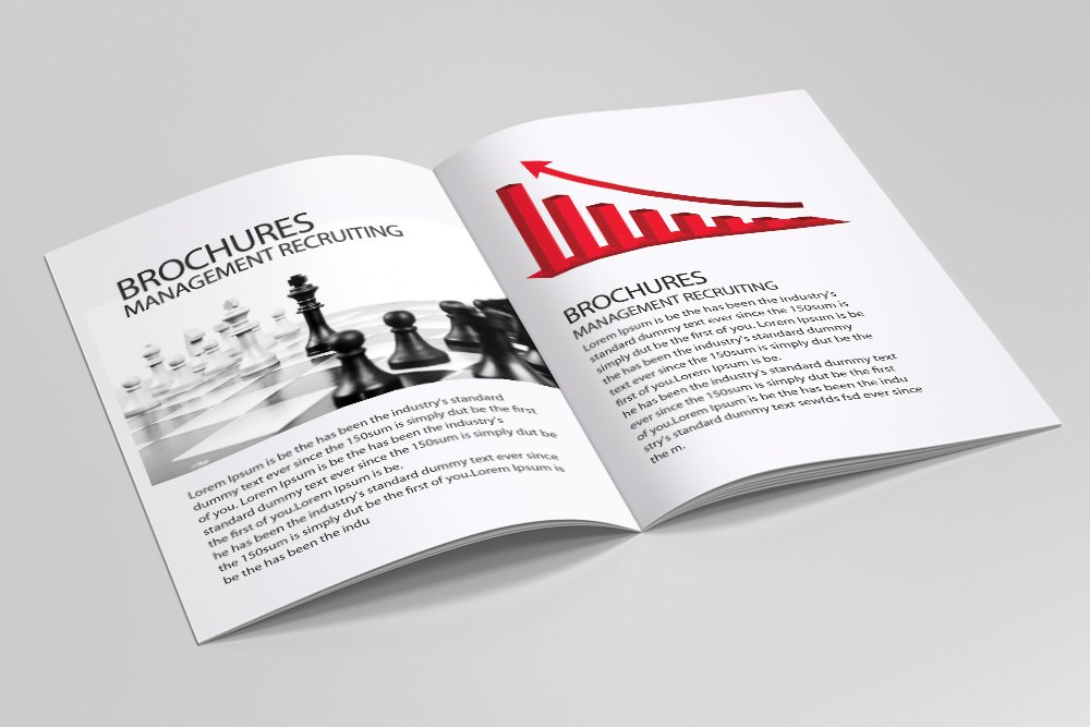 Business Portfolio Bifold Brochure 16 Pages example image 4