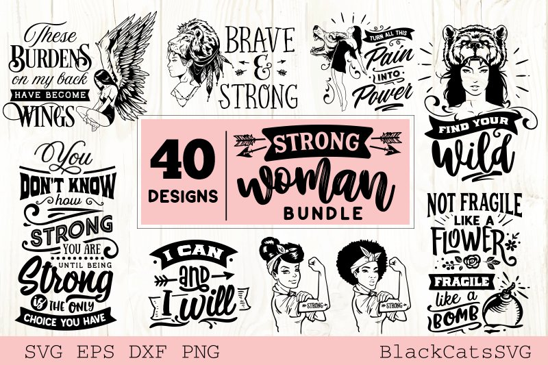 Mega Bundle 400 SVG designs vol 3 example image 7