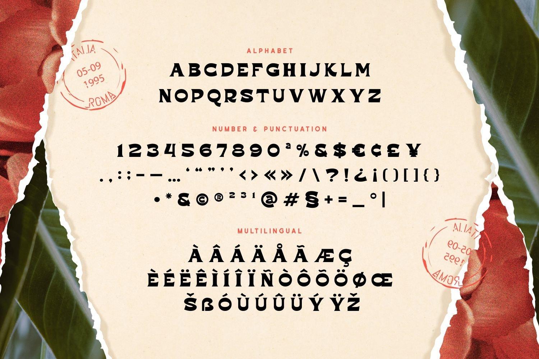 Rockfold - Powerful Vintage Display Font example image 5