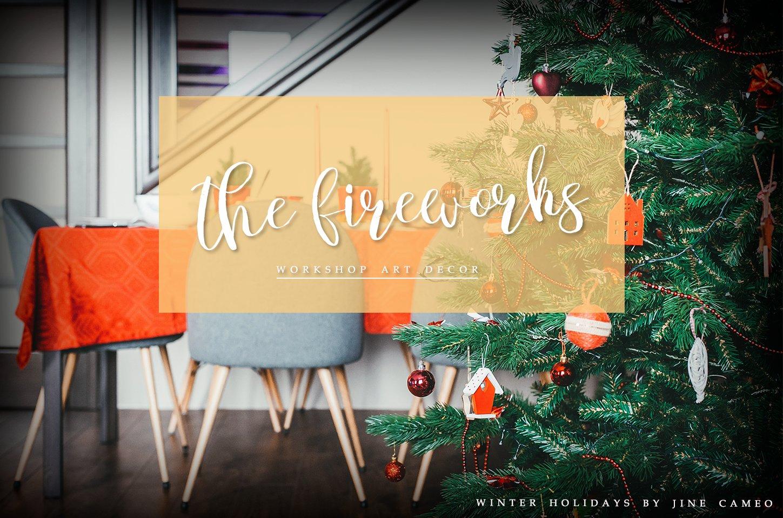 Winter Holidays - Brush Script example image 6