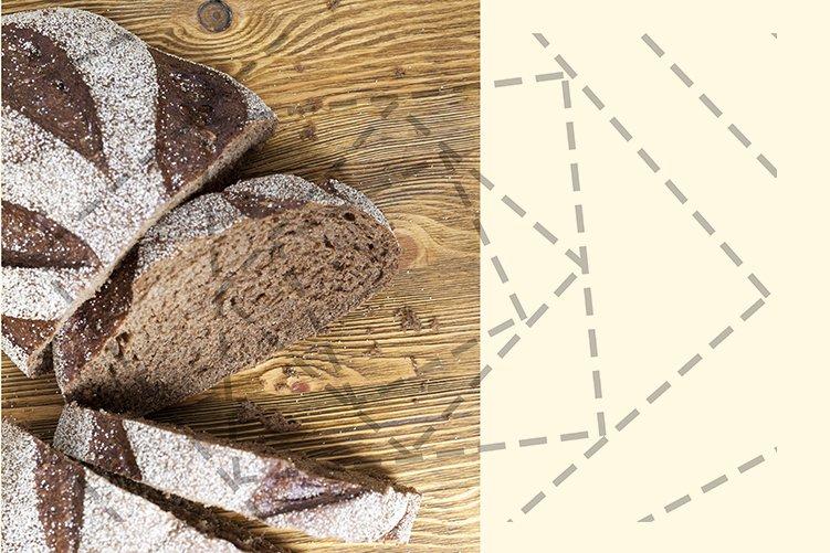 Sliced rye bread example image 1