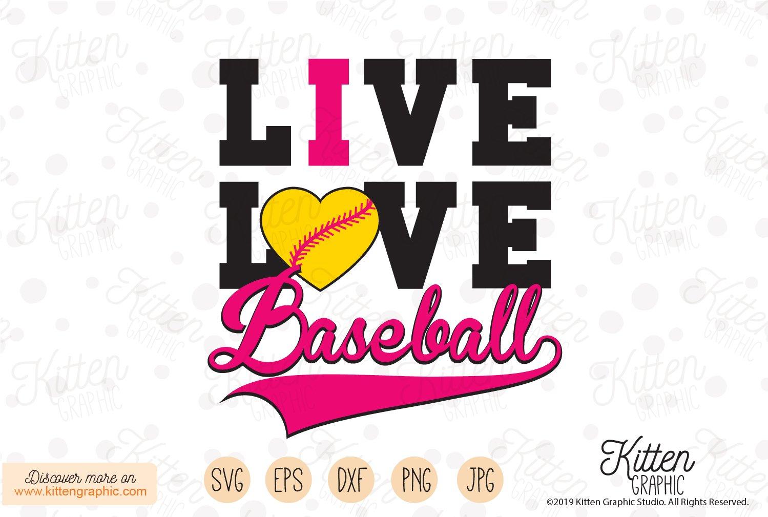 Download Live Love Baseball 392465 Svgs Design Bundles