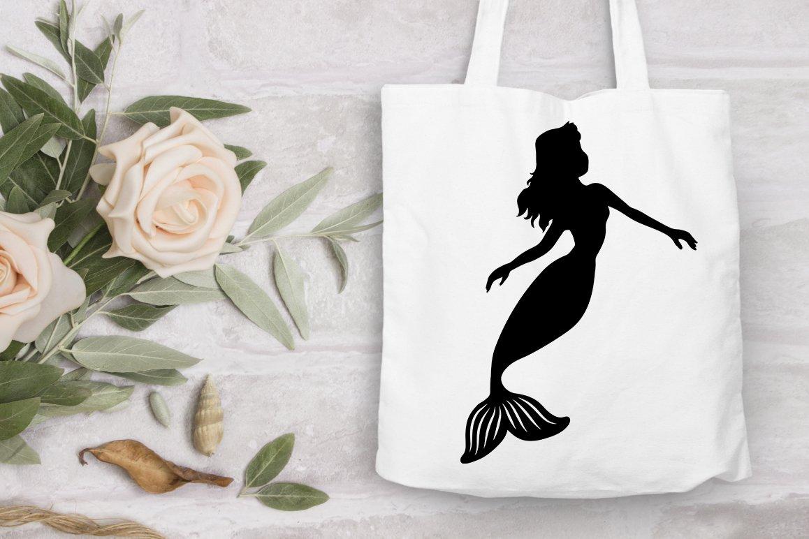 Mermaid SVG, Mermaids Bundle SVG Cut Files, Mermaid Clipart. example image 6