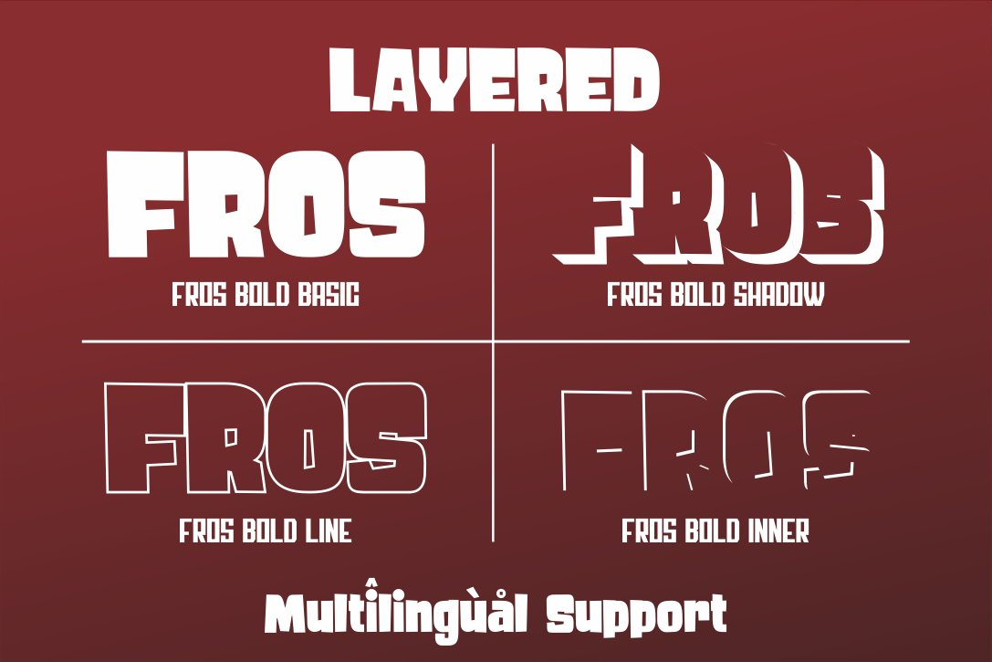 Fros Bold example image 2
