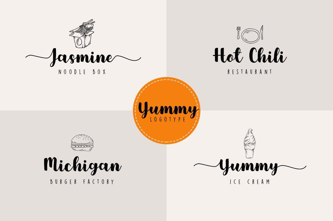 Yummy Brush Font example image 6
