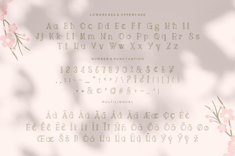 Tribulint - Beauty Display Font example image 5