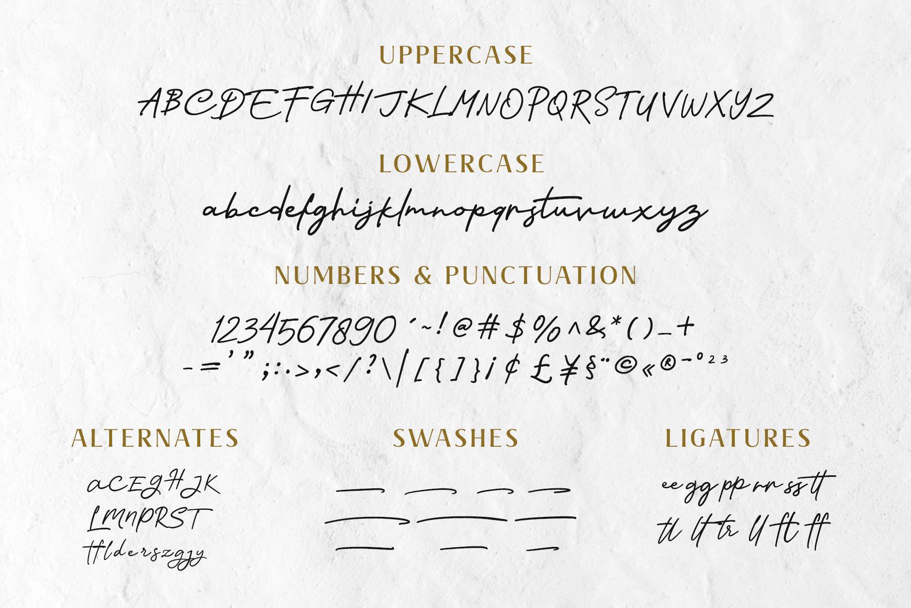 Nagietha - Handwritten Font example image 10