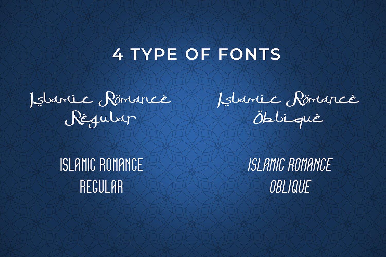Islamic Romance - Arabic Fauxlang Font Duo example image 7