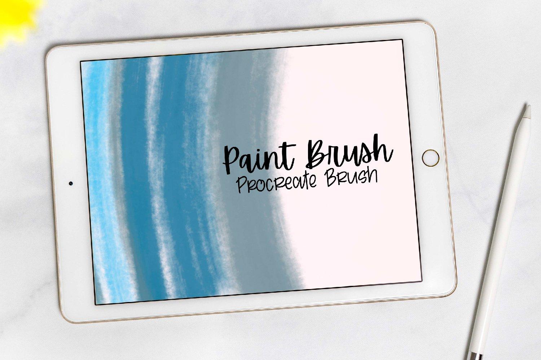 Procreate - Dry Paint Brush example image 1