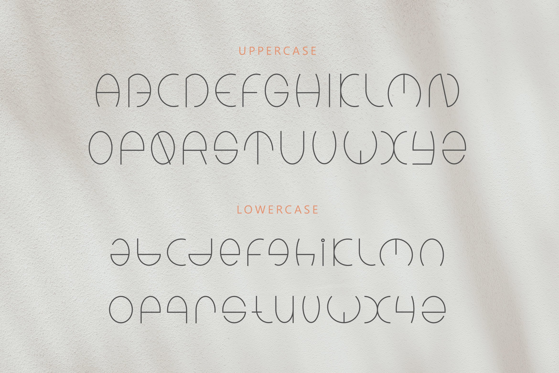 Kinders - Playful Linear Font example image 6