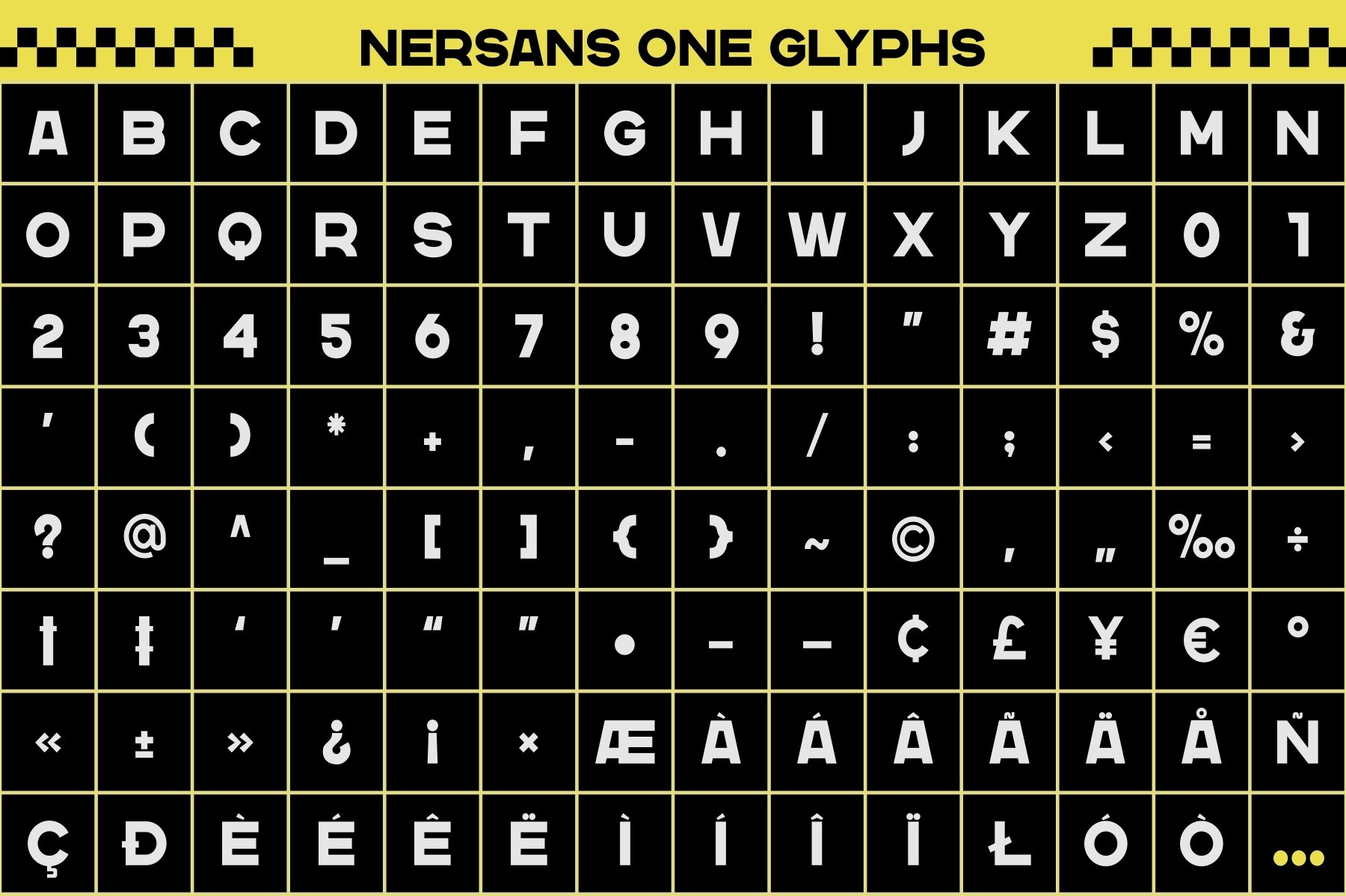 Nersans - Vintage Font with 3 Styles example image 10