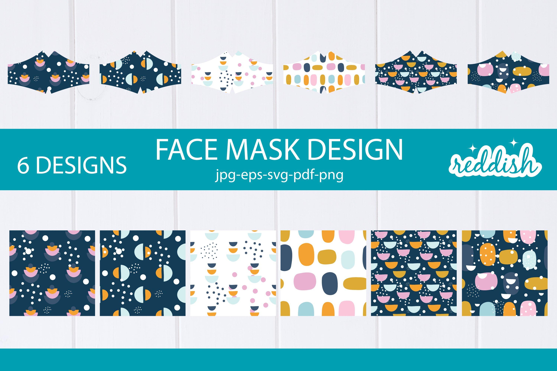 6 Face Mask Design 6 Mask Svgs And 6 Patterns Designs 856280 Fabric Crafts Design Bundles