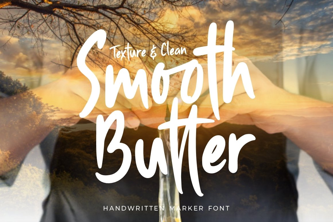 Smooth Butter - Handwritten Marker example image 1