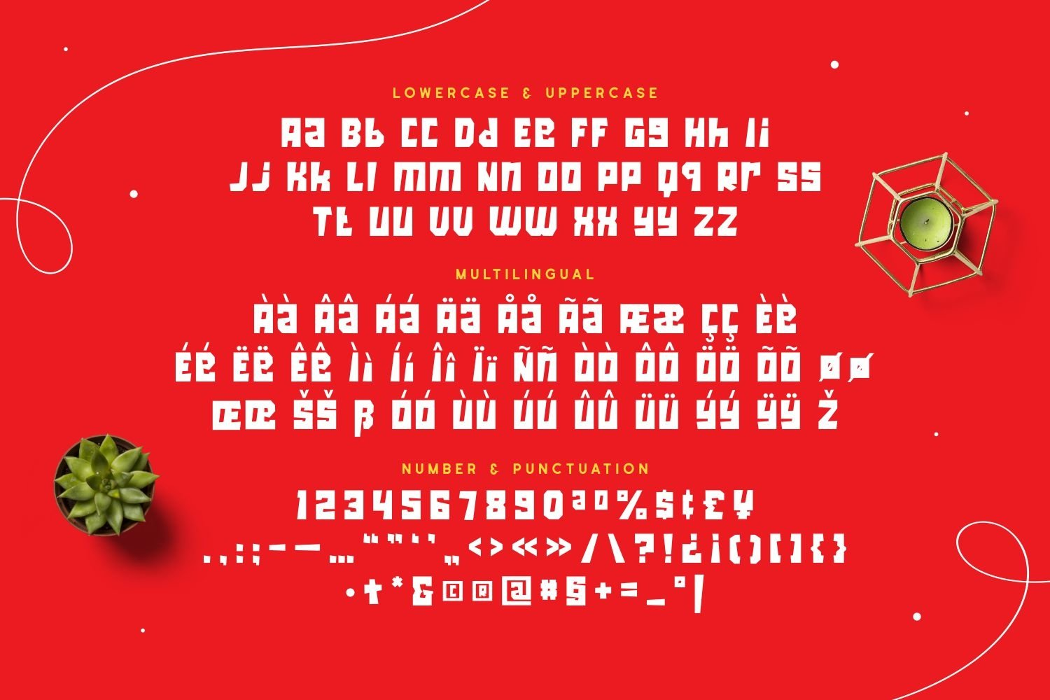 Northdeck - Powerful & Playful Font example image 5