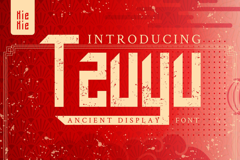 Tzuyu - Display Font example image 1