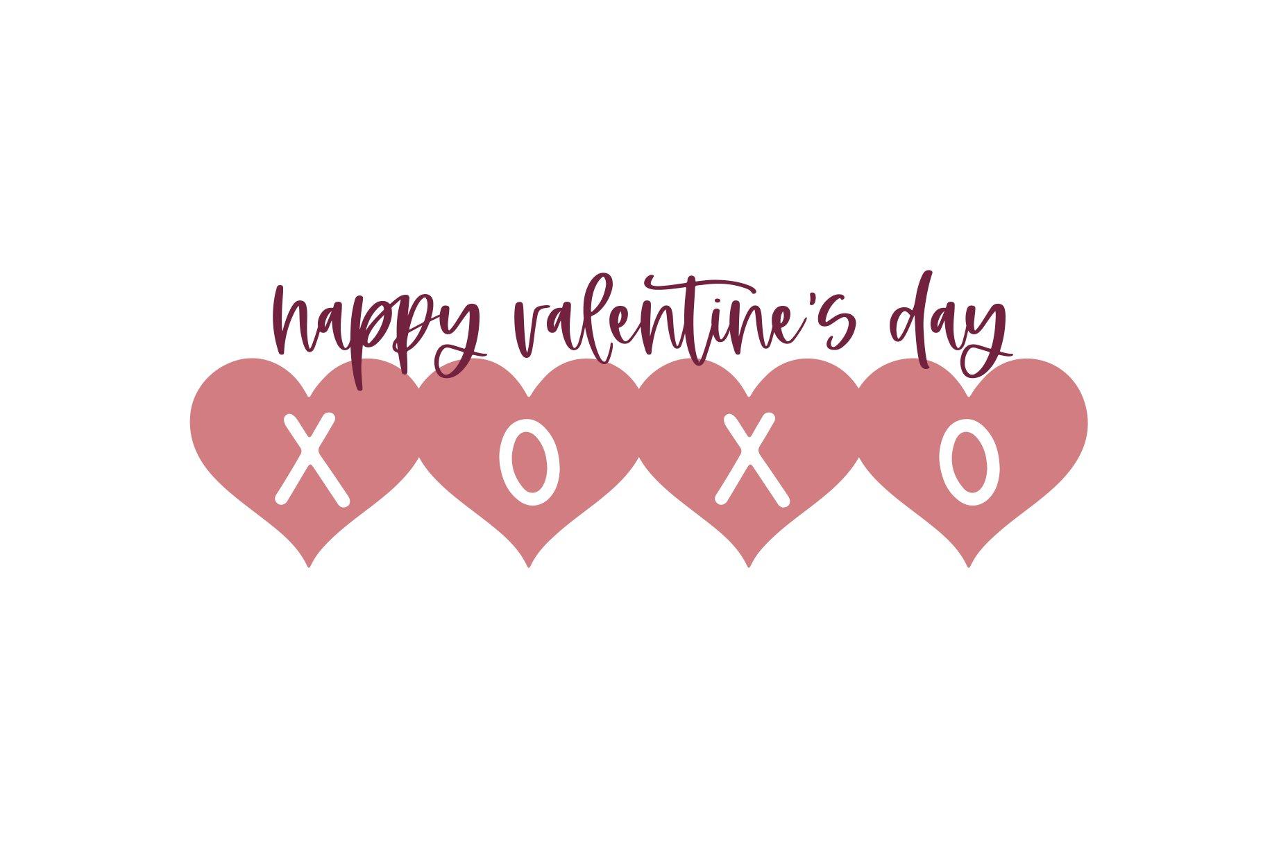 Date - A Fun Valentine's Day Font example image 2