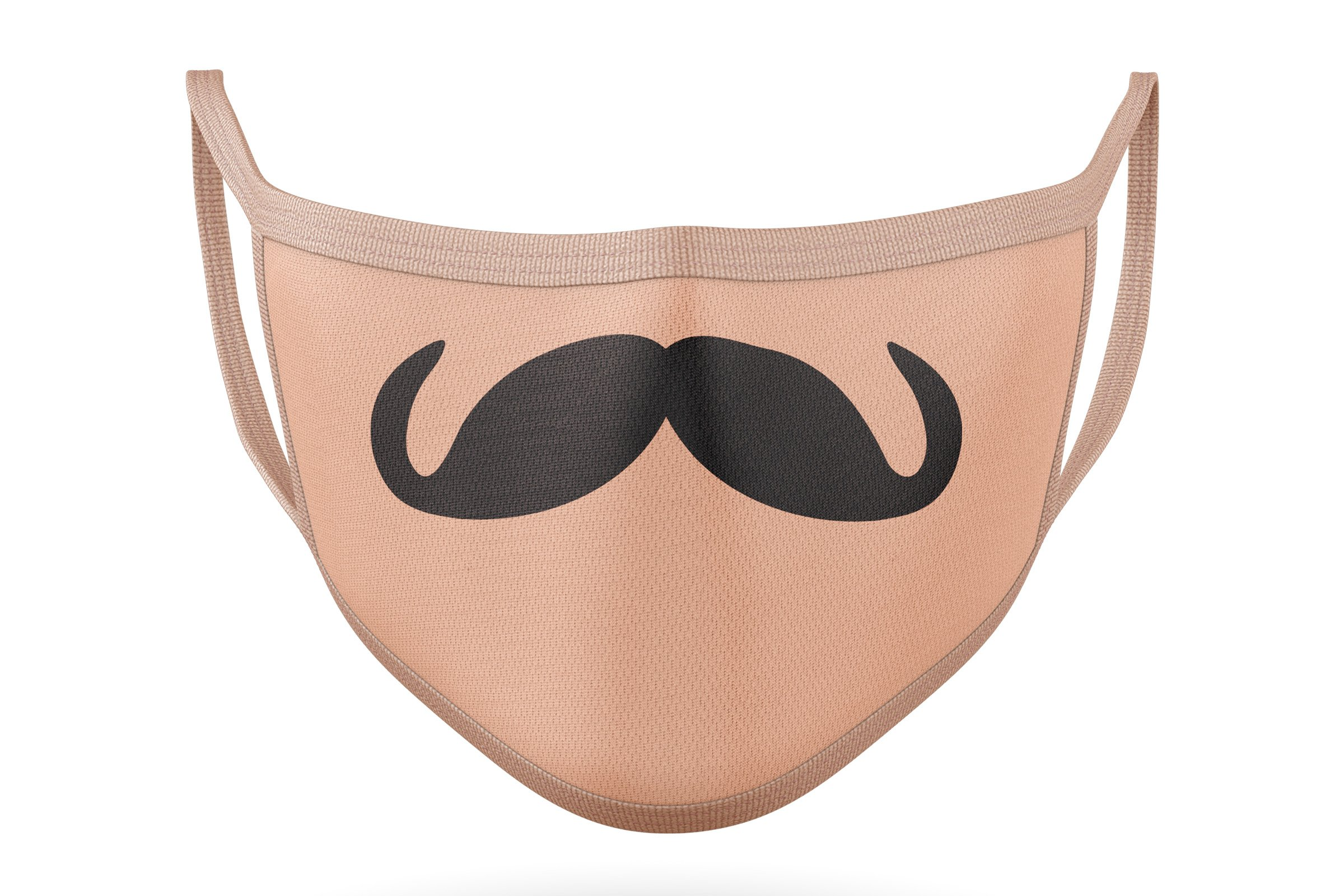 10 Funny Mustaches for Masks - SVG Cut Files example image 10