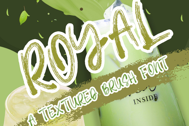 Royal Brush Font example image 1