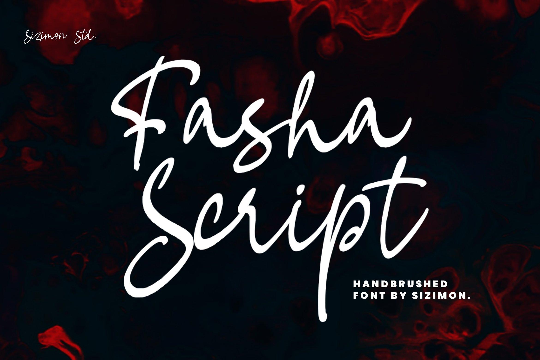 Fasha Script example image 1