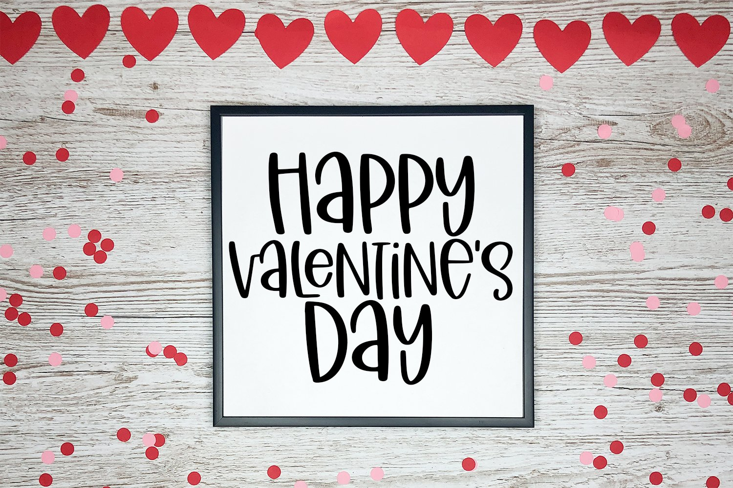 Little Miss Valentine - A Hand-Lettered Valentine's Day Font example image 4
