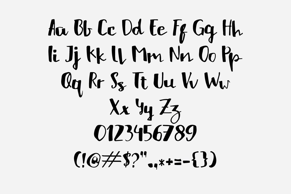 HelloListie Handmade Typeface example image 3