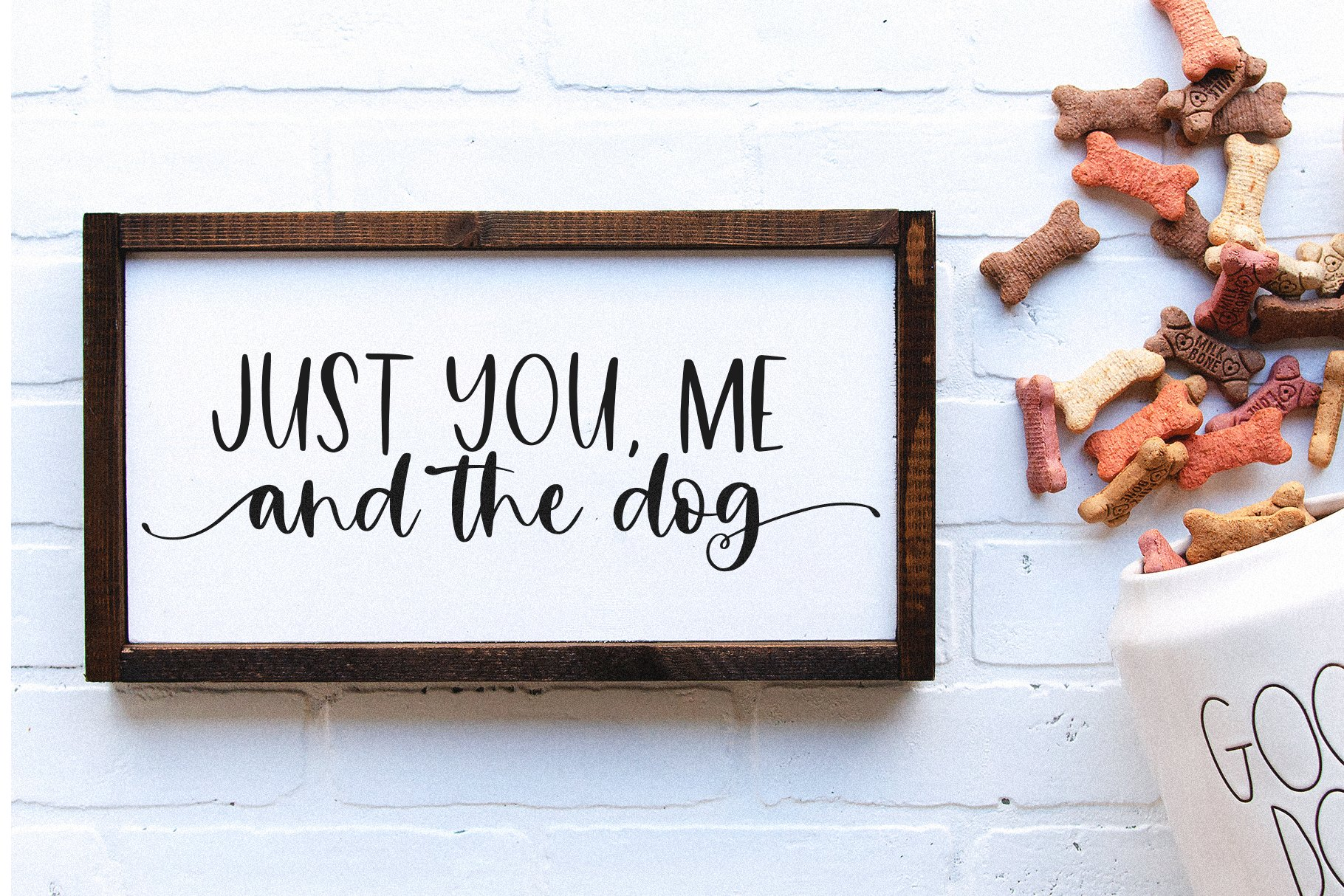 Farmhouse Font Bundle - Handwritten Fonts for Crafters! example image 29