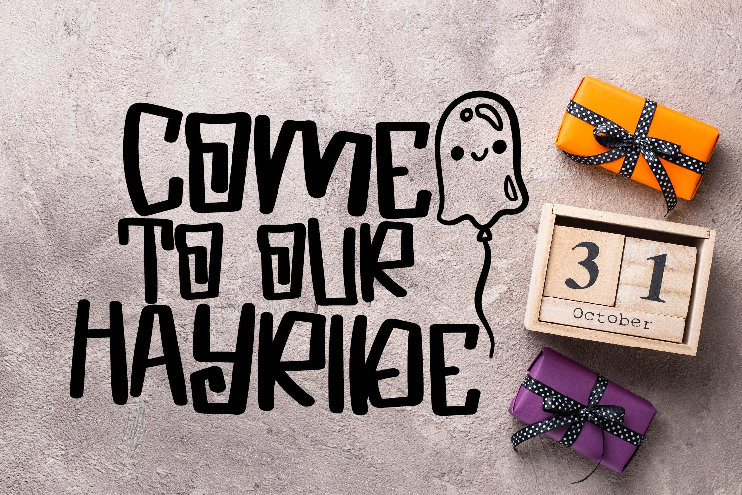 Spooky Dudes - A Scary Silly Halloween Font & Dingbat Duo! example image 5
