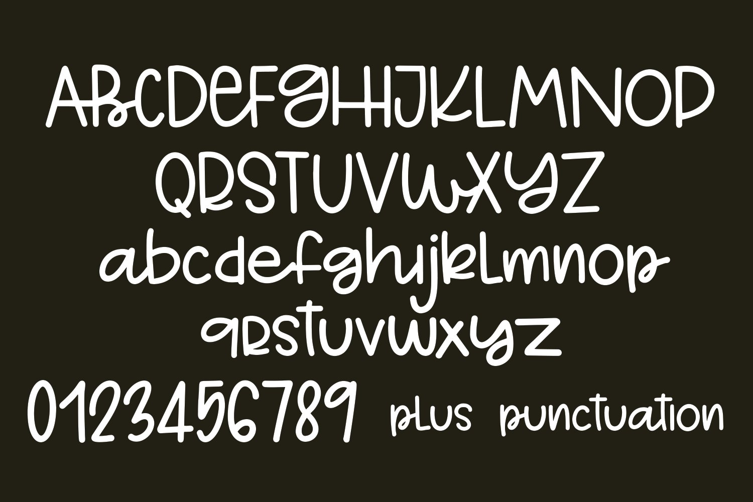 Belly Flop - A Playful Hand-Written Font example image 2