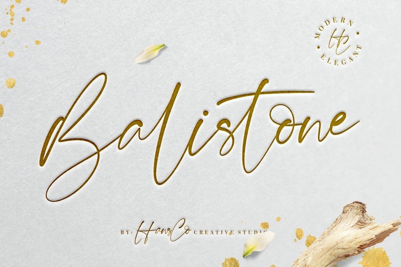 Balistone example image 1