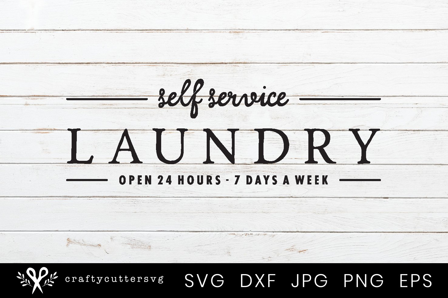 Laundry Room Sign | Farmhouse Laundry Room Sign SVG example image 2
