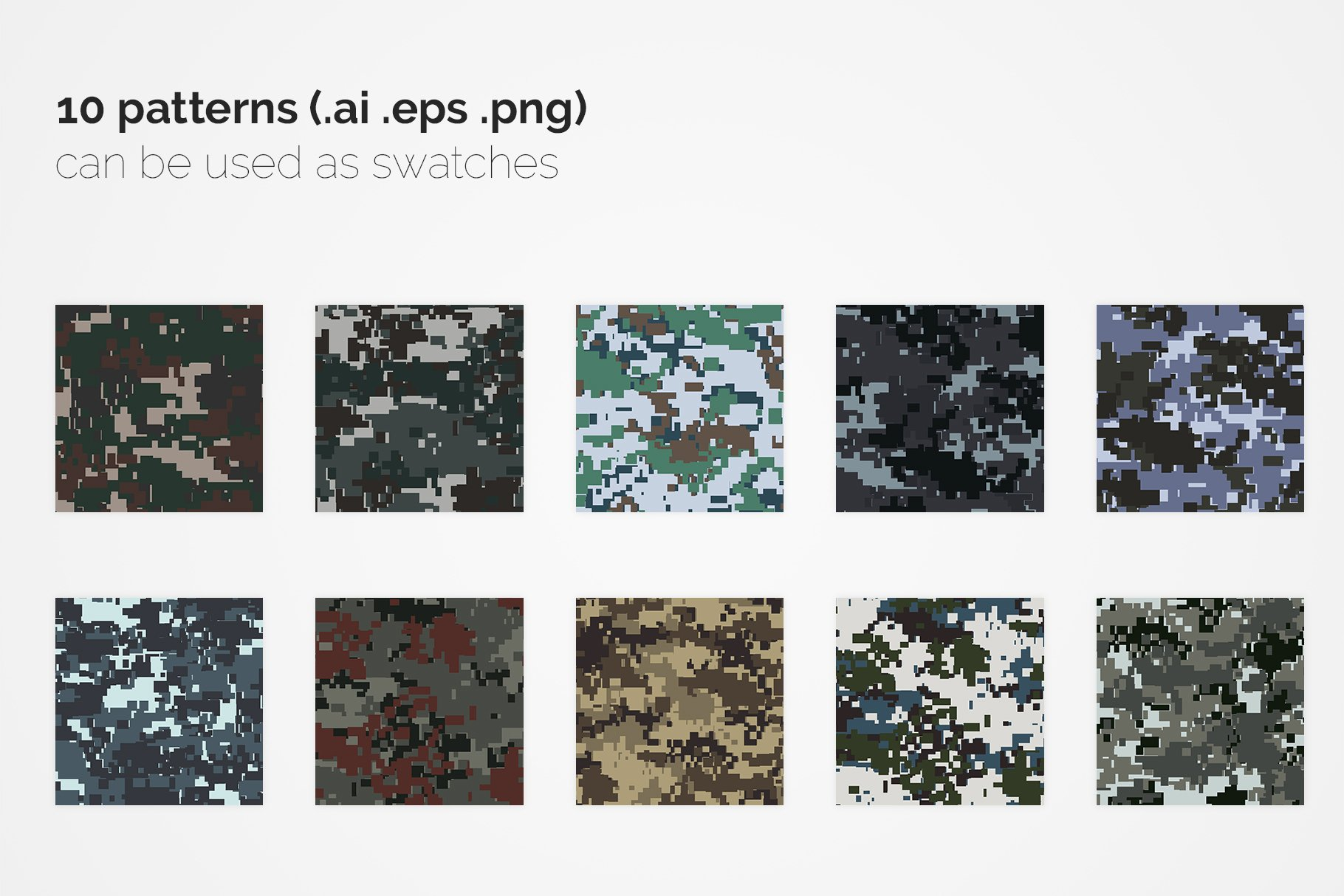 China Pixel Camouflage Patterns example image 2