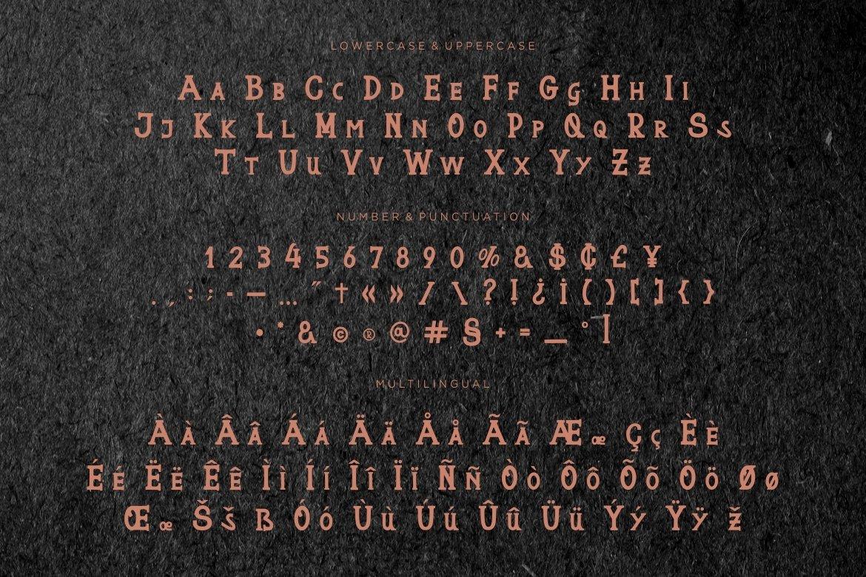 Buntara Display Font example image 5