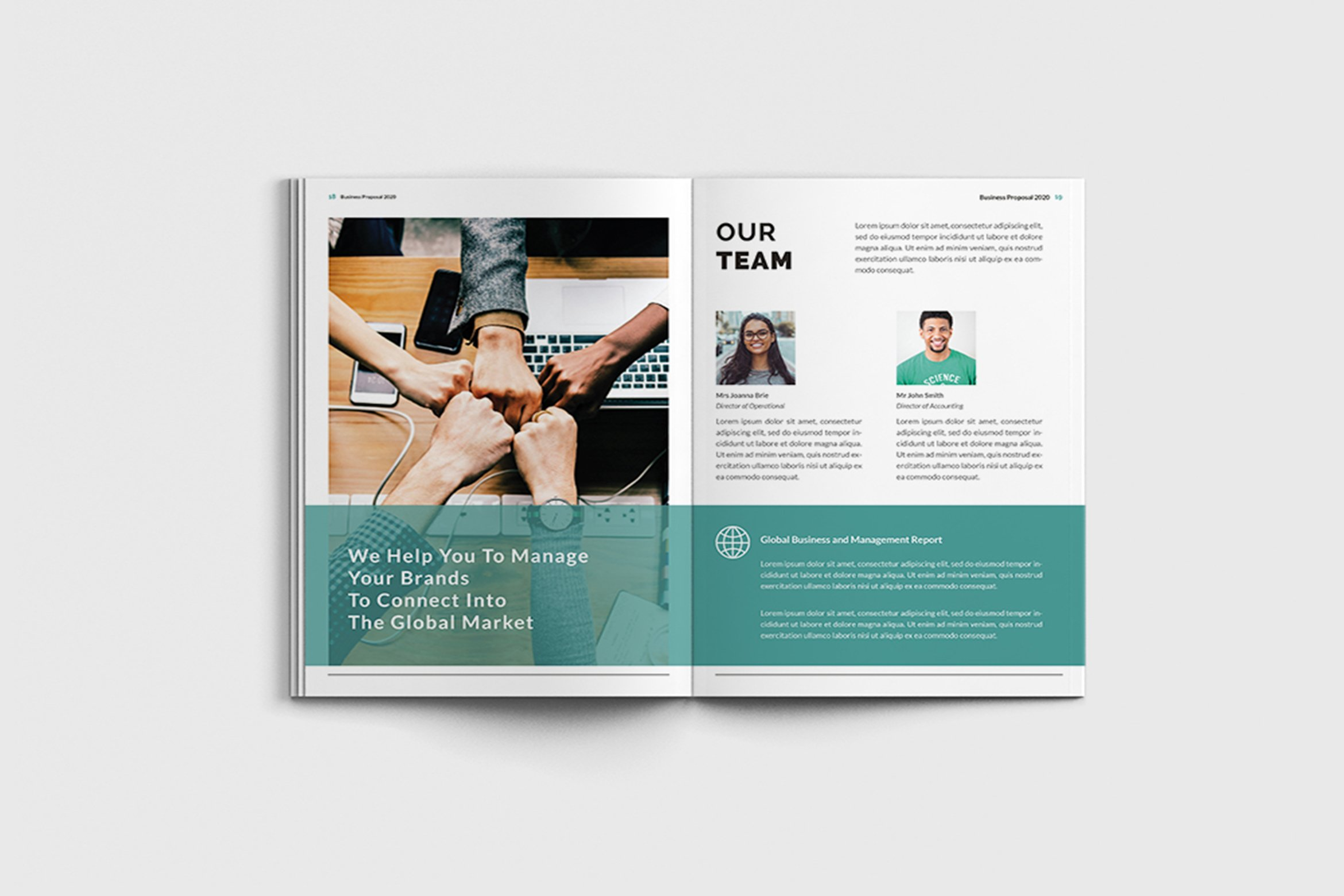 Mager - A4 Management Brochure Template example image 10