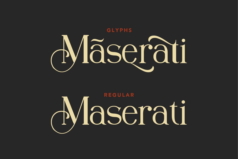 Nue Syierift - Playful Serif Font example image 2