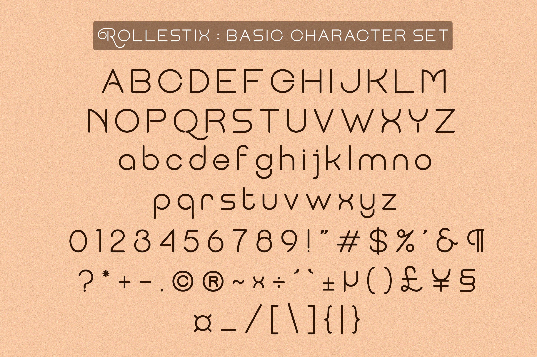 Rollestix - Rounded & Elegant sans serif example image 5