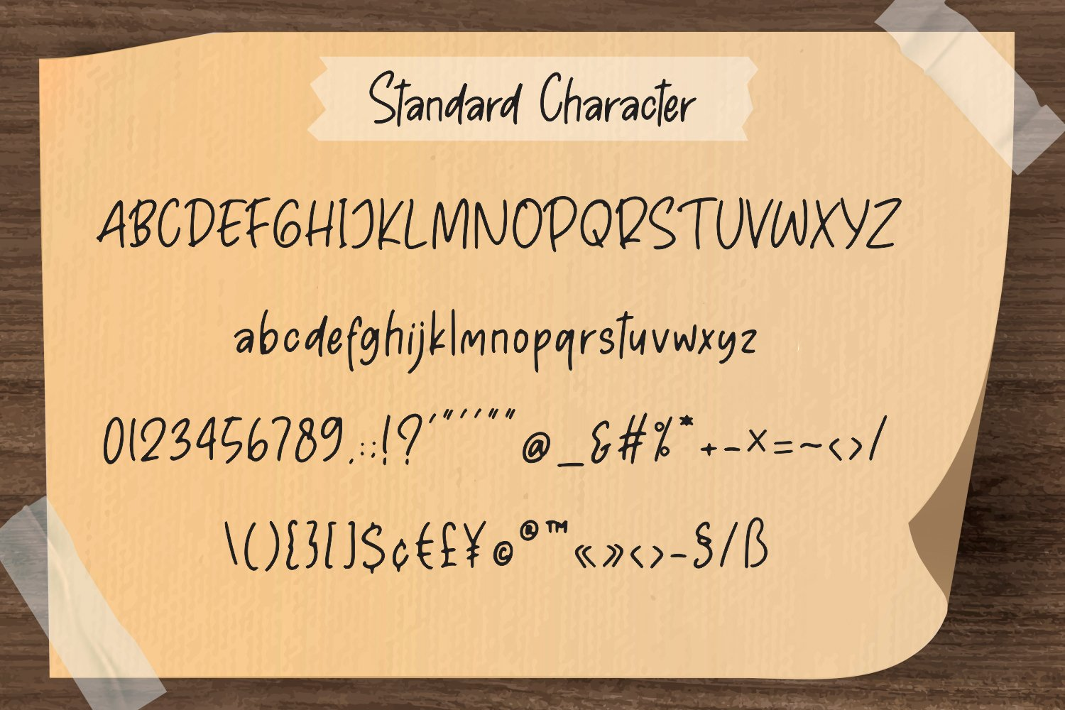Pen Story - Casual Handwriting example image 9