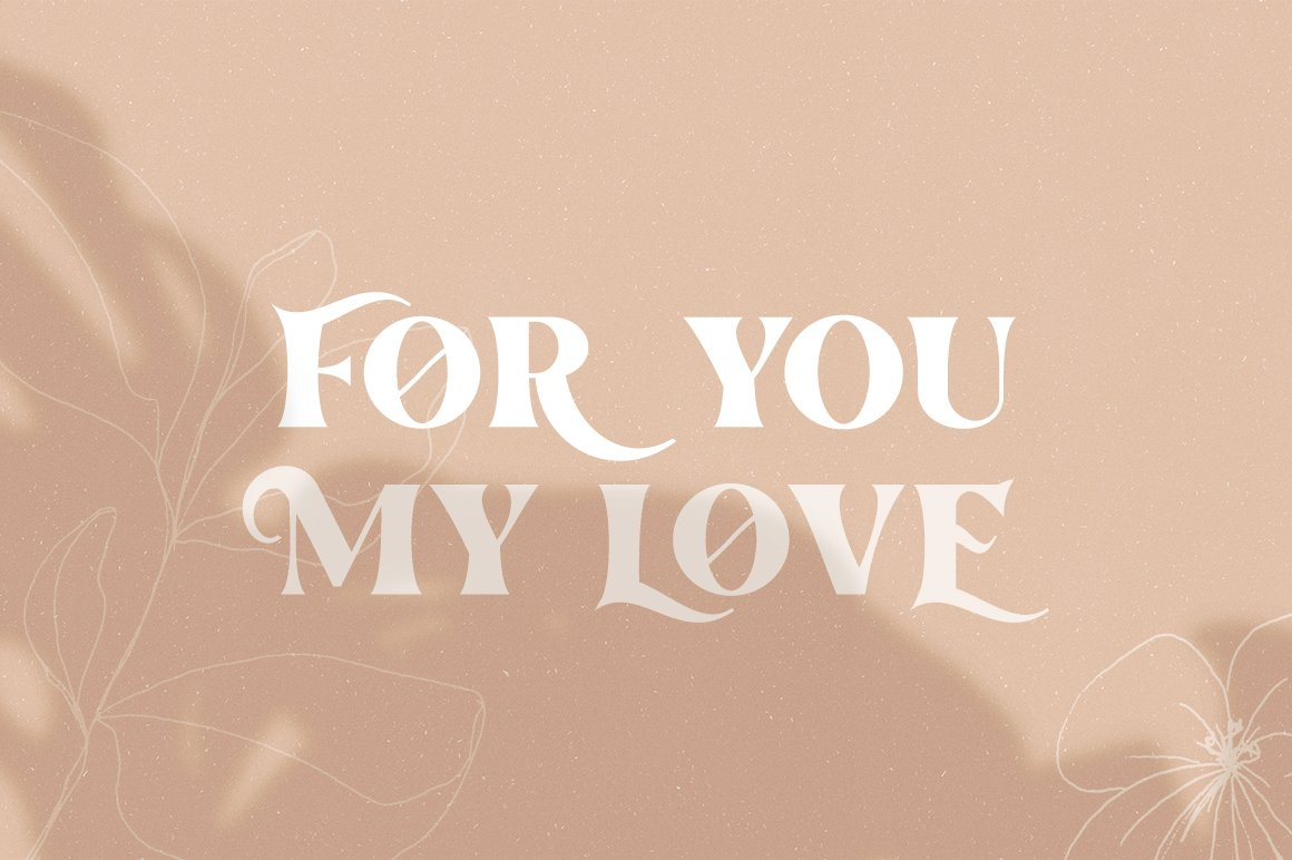 The Love For Money Font Duo example image 3