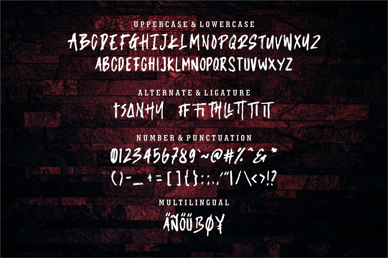 Rozack - A New Brush Font example image 6