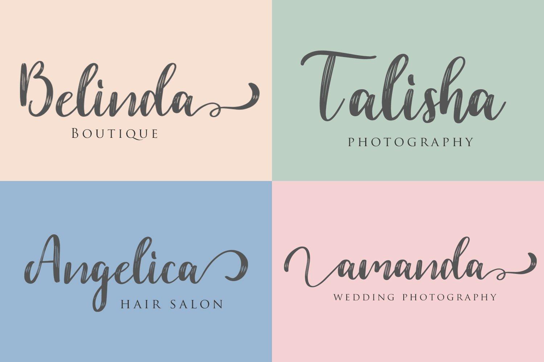 Dahlia Font example image 4