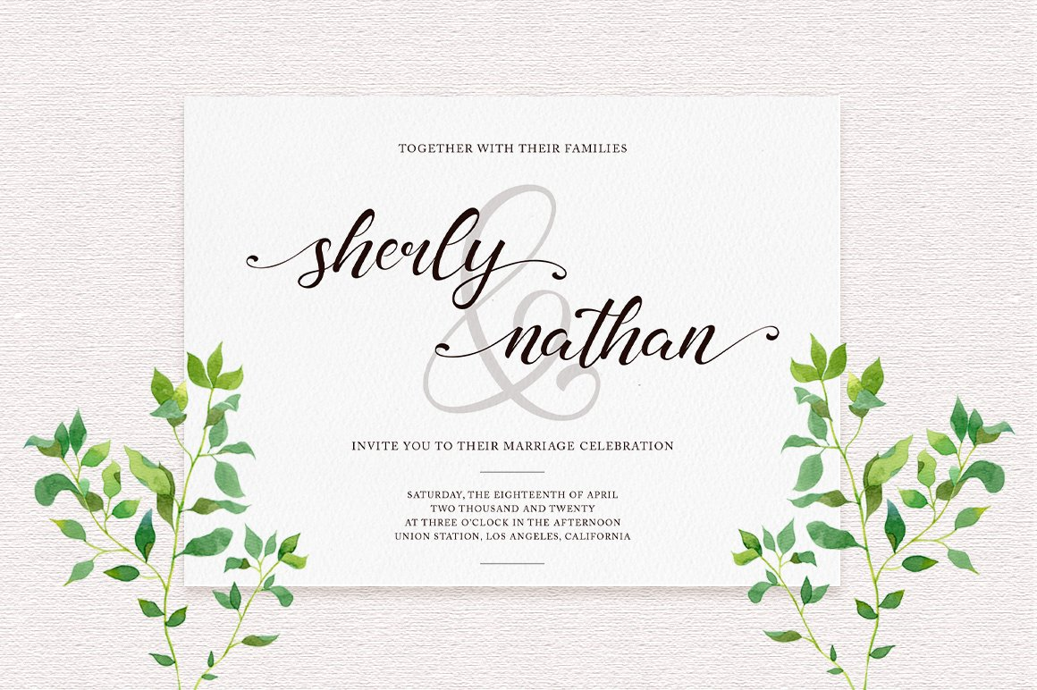 madelyn - Chic Script font example image 3
