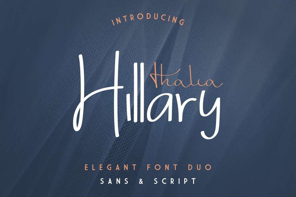 Thalia Hillary example image 1